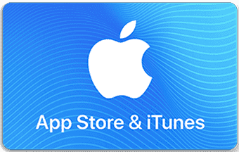 iTunes pre-paid or gift card