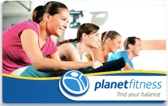 Planet Fitness pre-paid or gift card